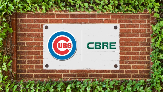 CBRE and the Chicago Cubs
